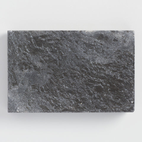 Gray Marble Soap Dish