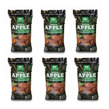 Green Mountain Premium Apple Grilling Cooking Pellets (6-Pack)