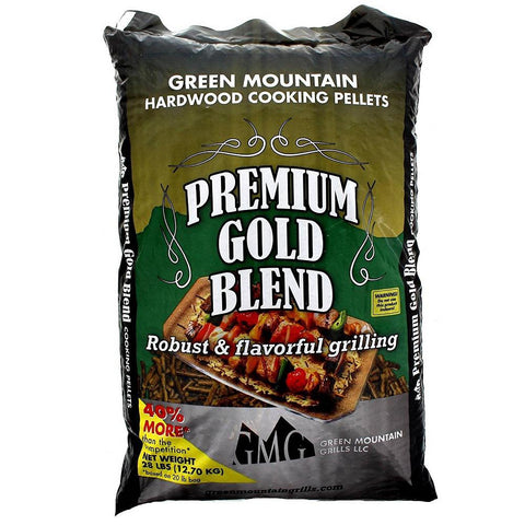 Green Mountain Premium Gold Blend Pure Hardwood Grilling Pellets (3-Pack)