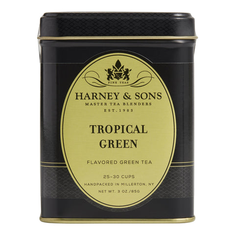Harney and Sons Loose Leaf Tropical Green Tea