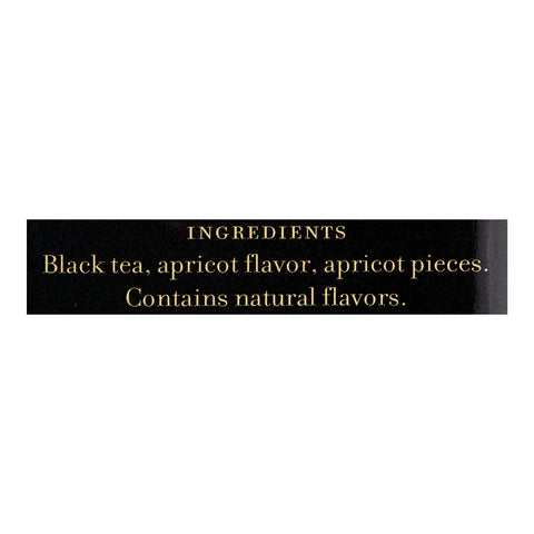 Harney and Sons Loose Leaf Apricot Black Tea