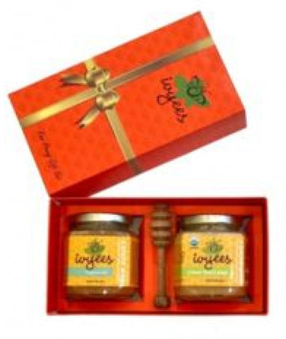 Hibiscus, Sorrel and Logwood Honey Gift Set