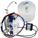 Home Master Artesian Full Contact with Permeate Pump Under Sink Reverse Osmosis System