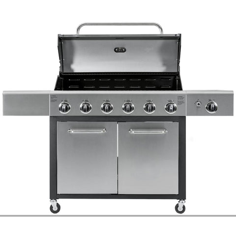 KENMORE 6-Burner with Side Propane Gas Burner XL Grill