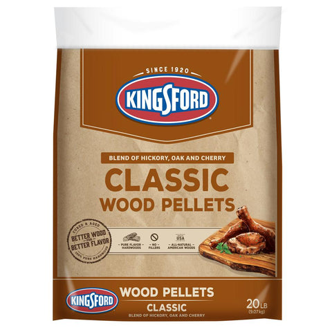 Kingsford 20 lbs. Signature Blend of Cherry, Hickory and Maple Wood Grilling Pellets