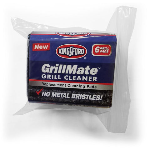 Kingsford GrillMate Refill Pads 6-Count Bristle Free Replacement Pads