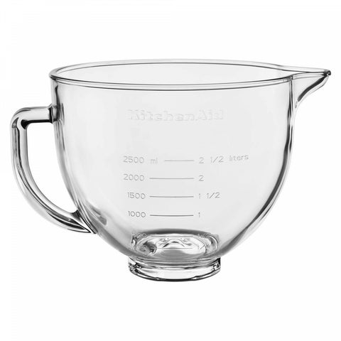KitchenAid 5 qt. Tilt-Head Mixer Glass Bowl with Lid