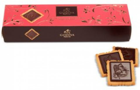 Lady Godiva 12-Pc. Dark Chocolate Biscuits
