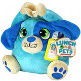 Lunch Pets HungryPup Plush Animal Lunch Box in Blue