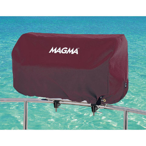 Magma Rectangular 12 in. x 24. in Grill Cover for Catalina Grill, Color: Jet Black