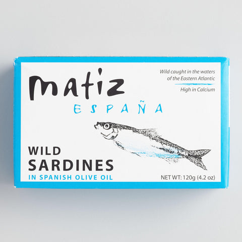 Matiz Gallego Sardines in Extra Virgin Olive Oil Set of 6