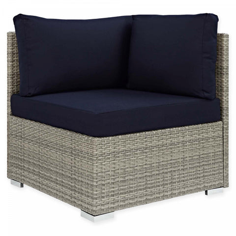 Modway Repose Patio Corner Chair with Sunbrella