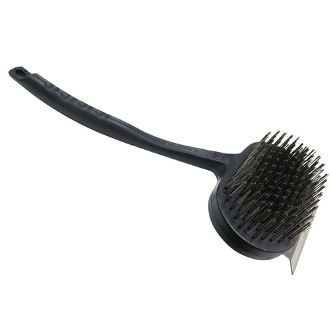 Mr. Bar-B-Q Oversized Dual-Handle Commercial Grill Brush with Durable Stainless Steel Bristles