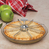 Mrs. Anderson's Baking 8-Slice Pie Marker and Cutter