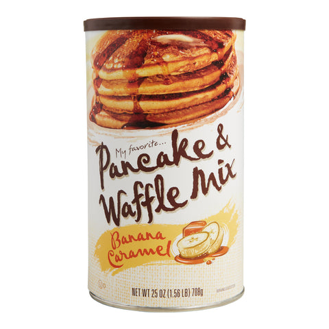 My Favorite Banana Caramel Pancake And Waffle Mix