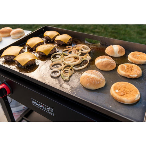 Nexgrill 2-Burner Propane Gas Grill in Black with Griddle Top