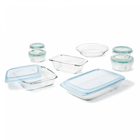 OXO Good Grips 14-Piece Glass Baking Dish Set with Lids