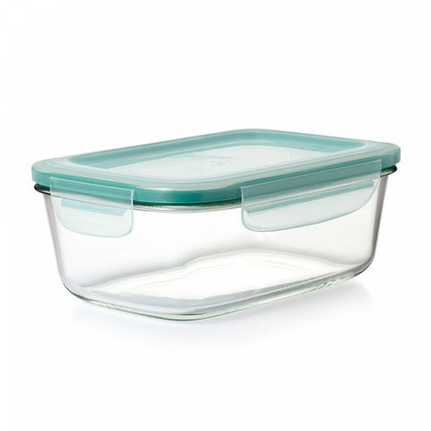 OXO Good Grips Smart Seal Rectangle Glass Snap Container