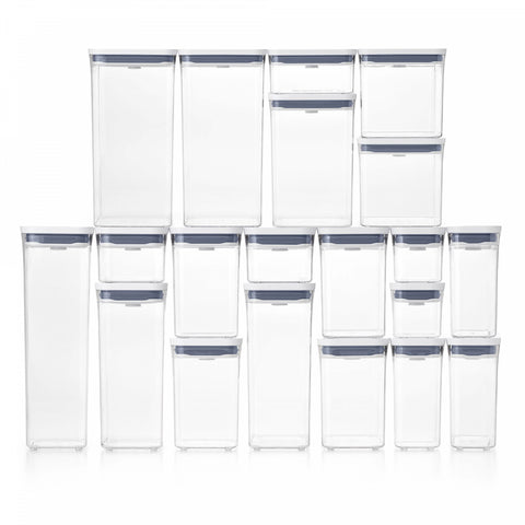 OXO Good Grips Square Tall 6 Qt. Food Storage POP Container in White