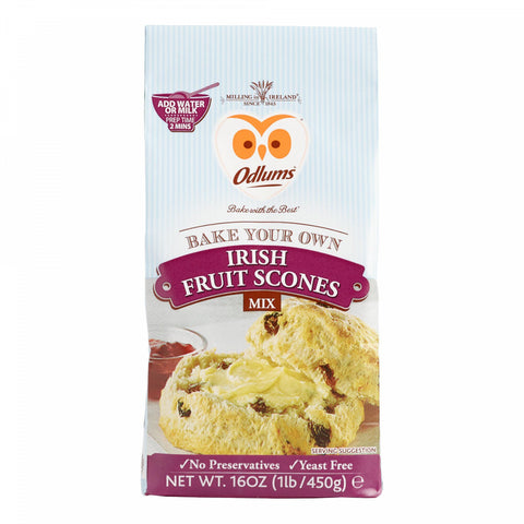 Odlums Irish Fruit Scones Mix Set of 2