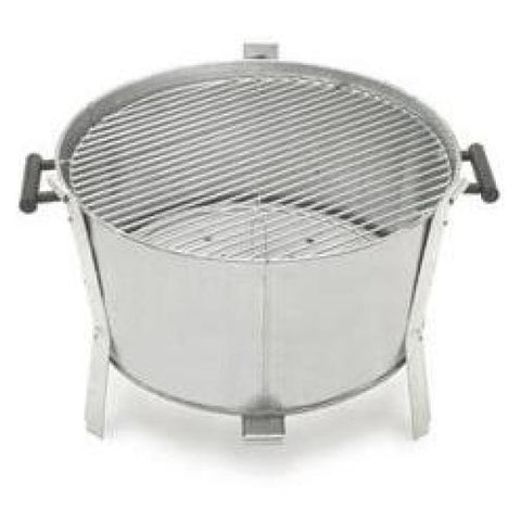 Old Smokey 22 in. Charcoal Grill in Silver
