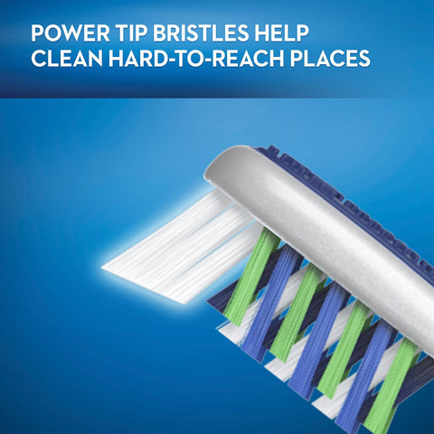 Oral-B ProAdvantage CrissCross Toothbrushes, 8 ct. (Choose Soft or Medium)