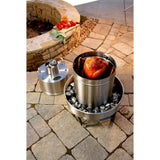 Orion Cooker Outdoor Convection Steam Cooker Stainless Steel Barbecue Smoker