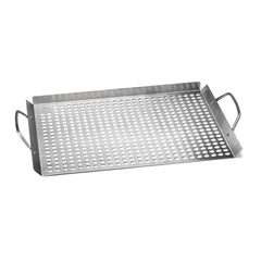 Outset 11 in. x 17 in. Stainless Steel Grill Topper Grid