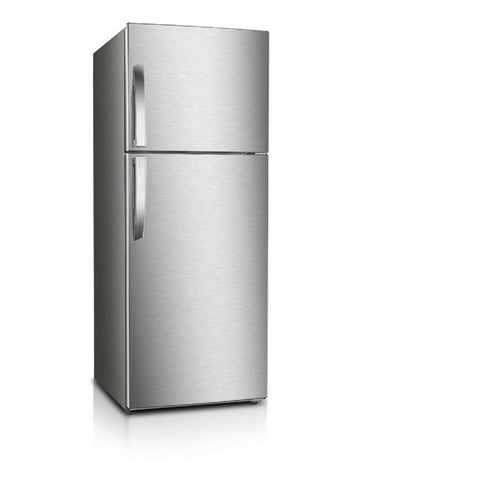 PREMIUM 7.1 cu. ft. Frost Free Top Freezer Refrigerator in Stainless Steel Look