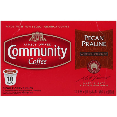 Pecan Praline Medium Roast Coffee Single Serve Cups (72-Pack)