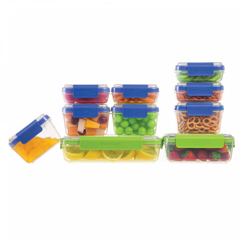Progressive SnapLock 20-Piece Container Set in Blue/Green