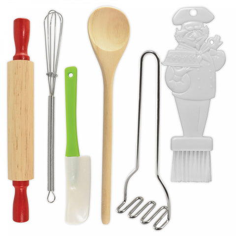 R and M 6-Piece Mini Kitchen Tool Set