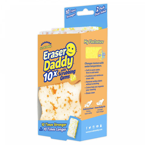 Scrub Daddy 2-Pack Eraser Daddy Cleaning Sponges