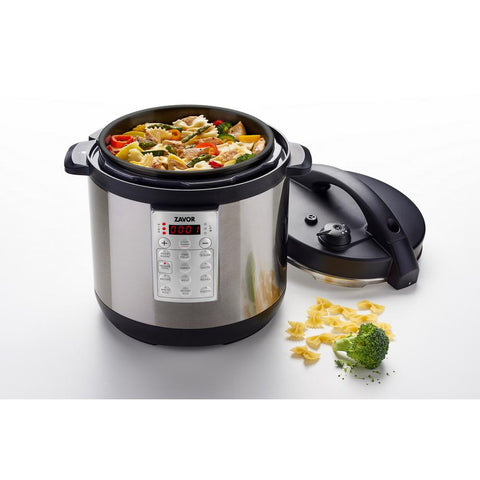 Select 6 Qt. Stainless Steel Electric Pressure Cooker with Removable Pot