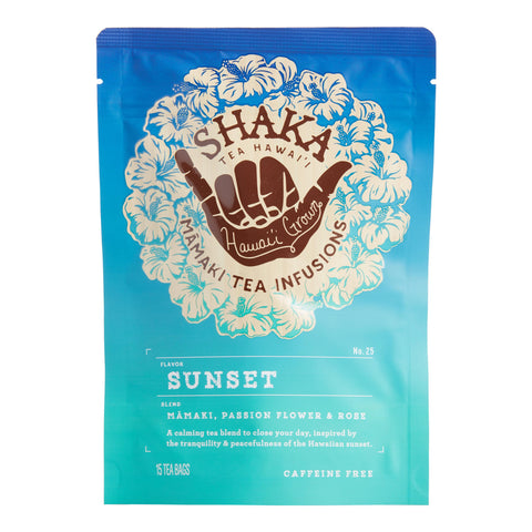 Shaka Sunset Hawaiian Mamaki Tea Infusion 15 Count