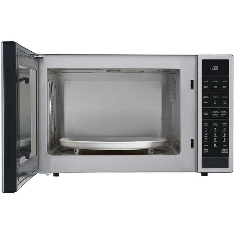 Sharp 1.5 cu. ft. Countertop Convection Microwave in Stainless Steel, Built-In Capable with Sensor Cooking