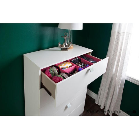 South Shore 7 in. x 5 in. Storit Pink Drawer Organizers