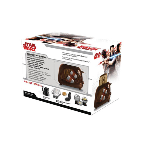Star Wars Empire Chewbacca Brown Toaster