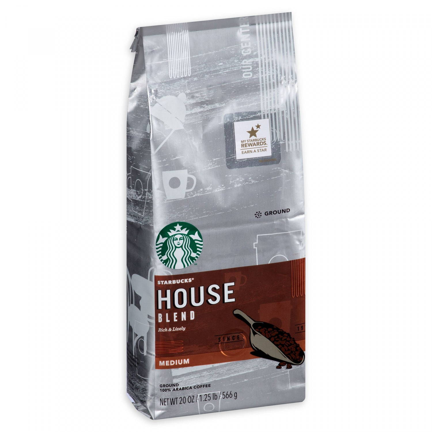 Starbucks House Blend Ground Coffee | MrOrganic Store