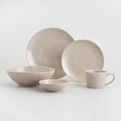 Stone Gray Element Salad Bowl Set of 4