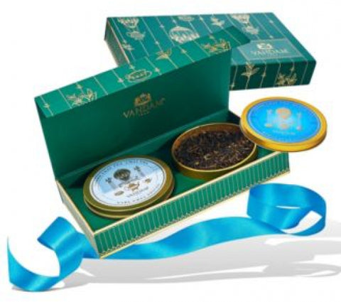 Tea Master's Duo, Gift Set, 2 Teas 50 Servings