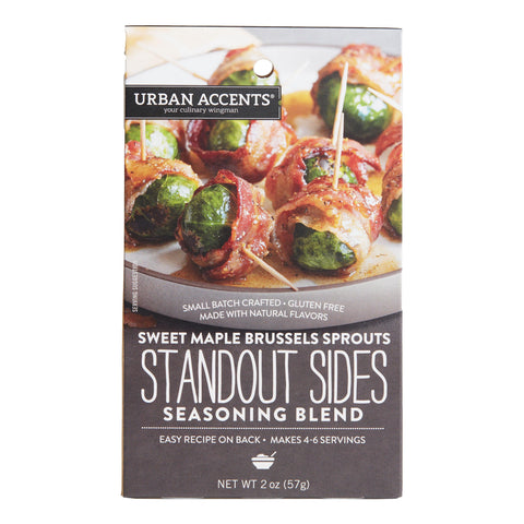 Urban Accents Maple Brussels Sprouts Seasoning Set Of 2