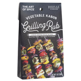 Urban Accents Vegetable Kabob Grilling Rub Set of 2