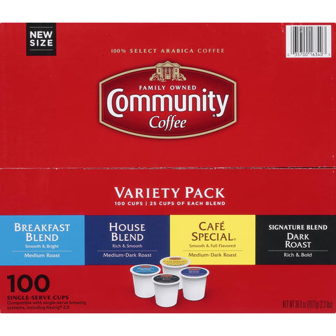 Variety Pack Single Serve Cups (100-Pack)