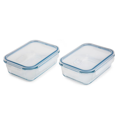 Vented Glass Food Storage (2-Pack)