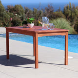 Vifah Classic Wood Table in Natural