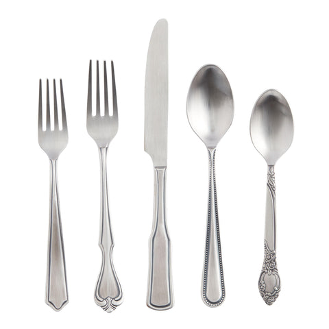 Vintage Eclectic Flatware Collection
