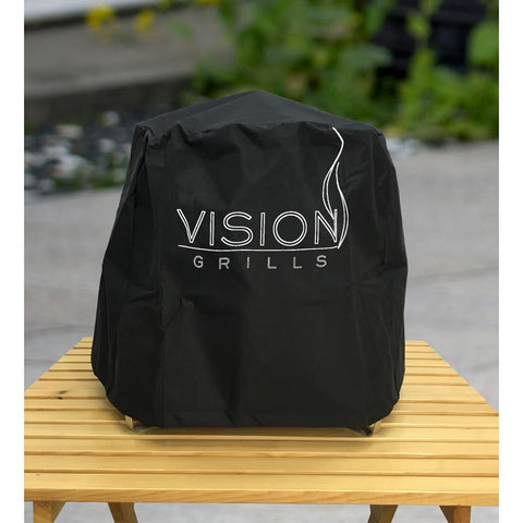 Vision Grills Small Grill Cover for Cadet Kamado Grill