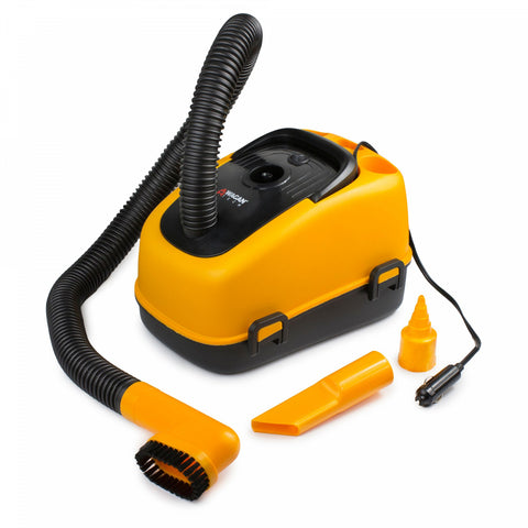 Wagan 12-Volt Wet/Dry Auto Vaccuum in Orange