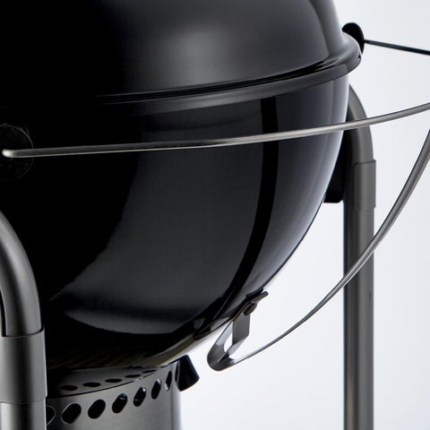 Weber 22 in. Performer Premium Charcoal Grill in Black with Built-In Thermometer and Digital Timer